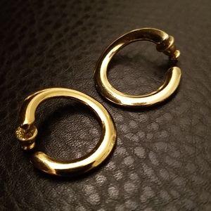 VTG hoop earrings